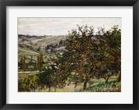 Framed Apple Trees near Vetheuil