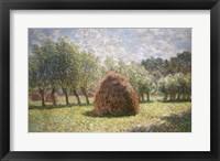 Framed Haystacks at Giverny, 1893