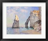 Framed Cliffs at Etretat, 1885