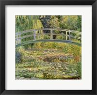 Framed Waterlily Pond, 1899