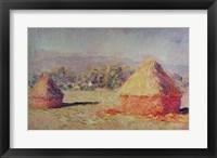 Framed Two Haystacks, 1891