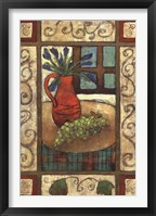 Framed Fruit Bowl I
