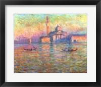 Framed San Giorgio Maggiore, Venice, 1908