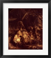 Framed Adoration of the Shepherds, 1646
