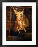 Framed Slaughtered Ox, 1655