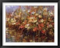 Framed Floral Reeds