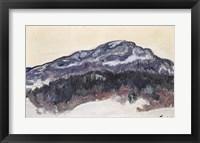 Framed Mount Kolsaas, Norway, 1895