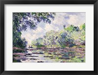 Framed Seine at Giverny, 1885