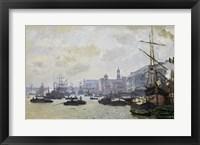 Framed Thames at London, 1871