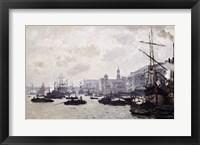 Framed Thames at London