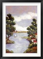 Framed Lago Gardi 1