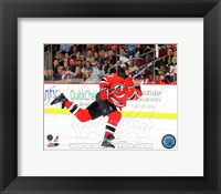 Framed Brian Rolston 2010-11 Action