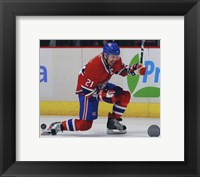 Framed Brian Gionta 2010-11 Action