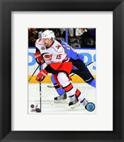 Framed Tuomo Ruutu on the ice 2010-11