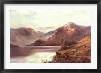 Framed Highland Loch