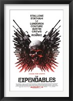 Framed Expendables - Skull