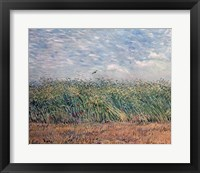 Wheatfield with Lark, 1887 Framed Print