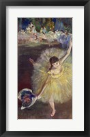 End of an Arabesque, 1877 Framed Print