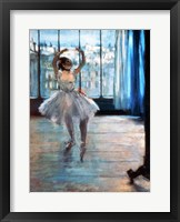 Dancer in Front of a Window Framed Print