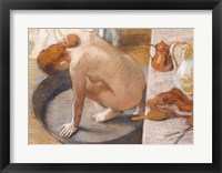 The Tub, 1886 Framed Print
