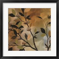 Sundown Bronze I Framed Print