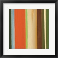 Hampton Stripe I Framed Print