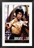 Framed Bruce Lee