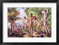Framed Bathers