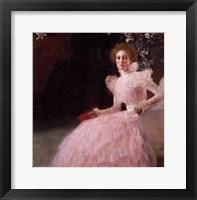Framed Sonja Knips, 1898