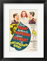 Framed Philadelphia Story - Cary Grant
