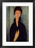 Framed Woman with Blue Eyes, c.1918