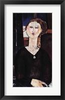 Framed Antonia, c.1915