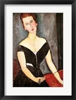 Framed Madame G. van Muyden, 1917