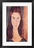 Framed Portrait of a Young Girl