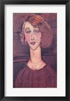 Framed Renee, 1917