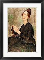 Framed Portrait of Dedie Hayden, 1918