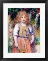 Gypsy Girl, 1879 Framed Print