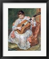 Framed Guitar Player, 1897