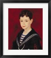 Framed Portrait of Fernand Halphen