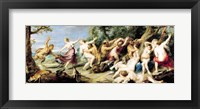 Framed Diana and her Nymphs Surprised by Fauns, 1638-40