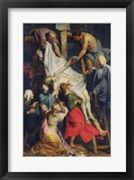 Framed Descent from the Cross, 1617