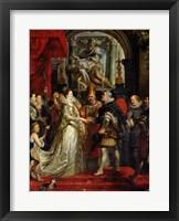 Framed Proxy Marriage of Marie de Medici