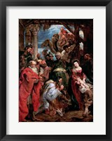 Framed Adoration of the Magi, 1624