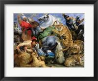 Framed Tiger Hunt