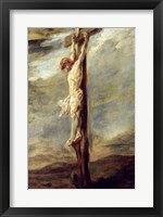 Framed Christ on the Cross