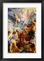 Framed Stoning of St. Stephen