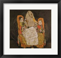 Framed Mother with Two Children