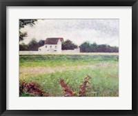 Framed Landscape in the Ile-de-France, 1881-82