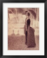 Framed Study for Sunday Afternoon on the Island of La Grande Jatte