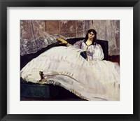 Framed Portrait of Jeanne Duval, 1862